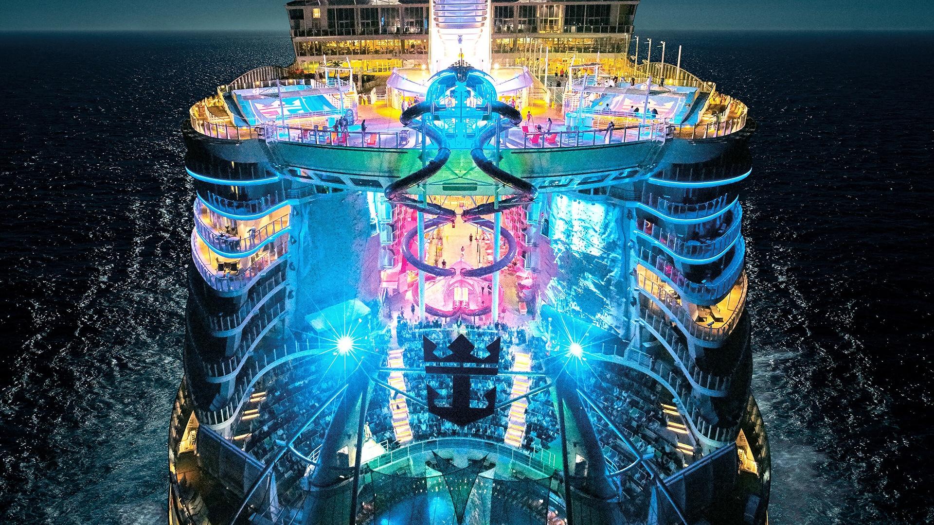 Crociere:cantieri Stx consegnano Sympnony of the Seas a Rccl